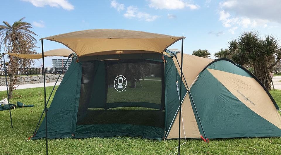 夏キャンプのテント選び