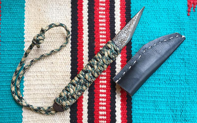 DIY キャンプ用ナイフ