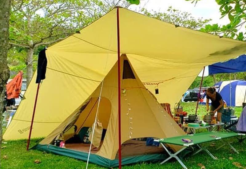 夏キャンプ カンガルースタイル