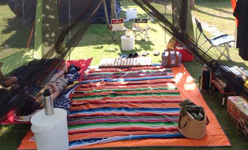夏キャンプの寝具選び