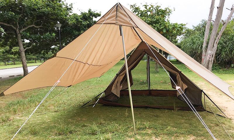 小川のトリアングロはどんなテント?