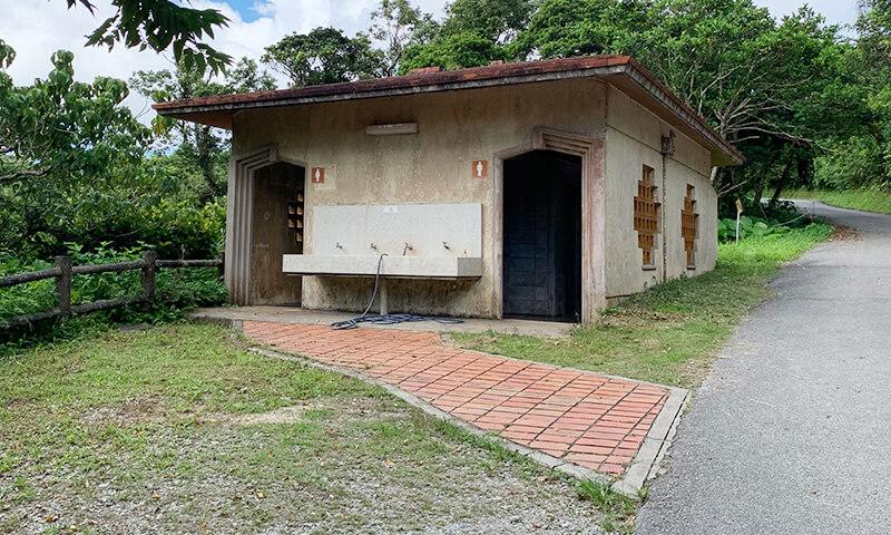 乙羽岳森林公園キャンプ場 トイレ